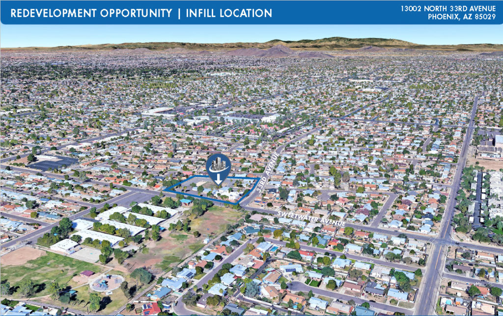 FOR SALE: Redevelopment Opportunity | Infill Location in Phoenix Arizona